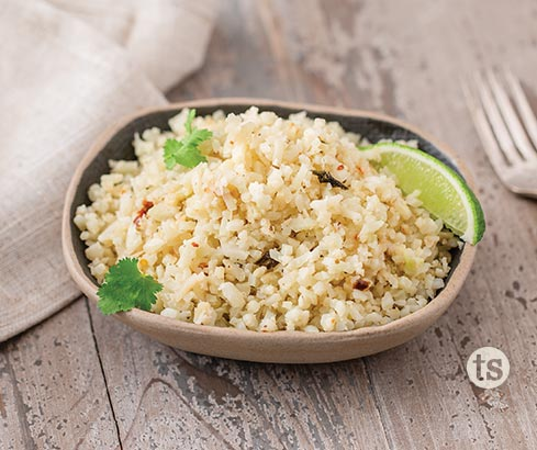 Salsa Cauliflower Rice recipe | Tastefully Simple