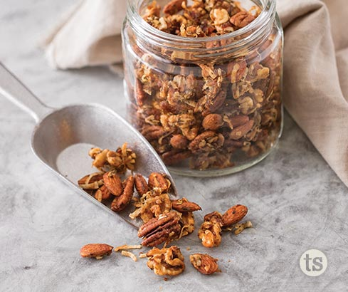 Sweet Rustic Snack Mix recipe | Tastefully Simple