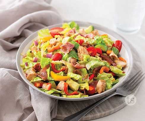 Chopped Italian Sub Salad Recipe | Tastefully Simple