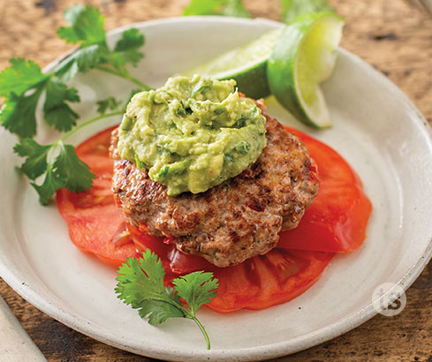Fiesta Turkey Burgers Recipe | Tastefully Simple