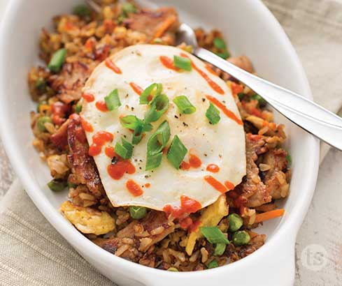 Breakfast Fried Rice Recipe | Tastefully Simple