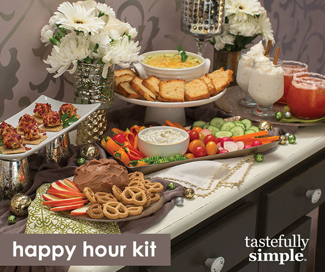 Host a Happy Hour with Ease blog post | Tastefully Simple