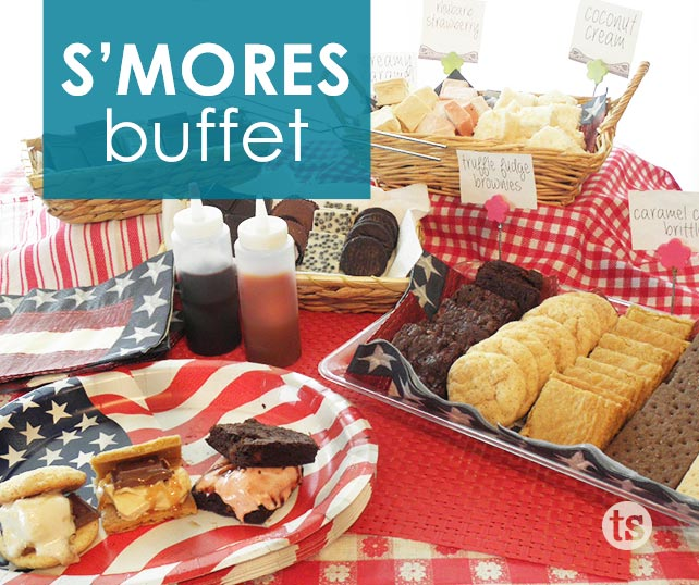 Have s'more fun with a s'mores buffet!