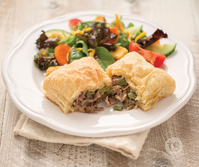 Philly Cheese Steak Hand Pies recipe | Tastefully Simple