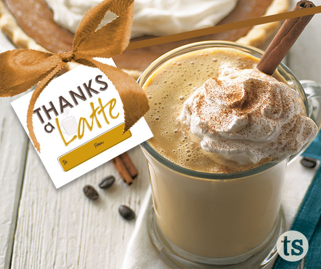 Thanks a Latte blog post | Tastefully Simple