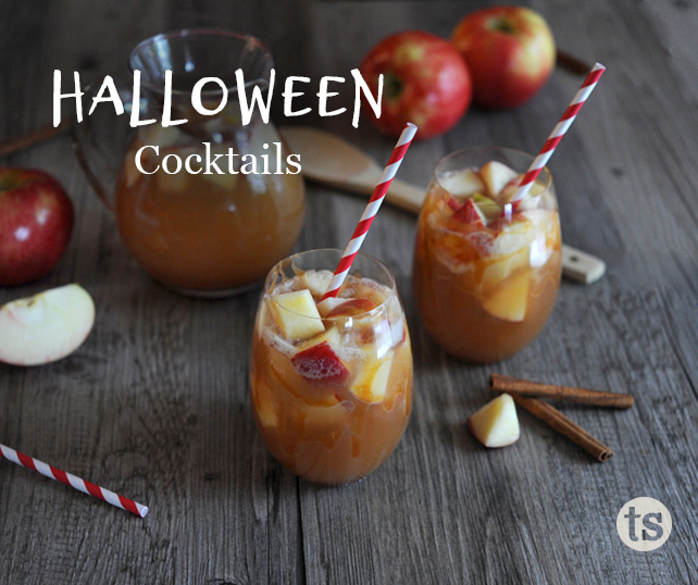 What's Brewing: 7 Halloween Cocktail Ideas blog post | Tastefully Simple