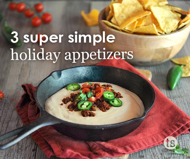 3 Super Simple Holiday Appetizers blog post | Tastefully Simple