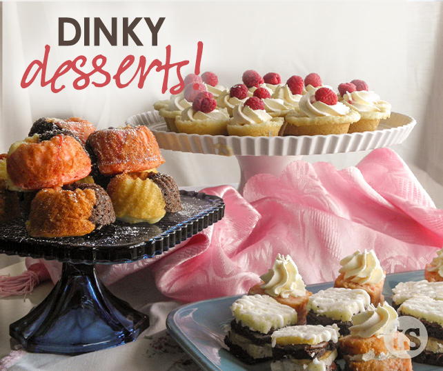 Dinky Desserts blog post | Tastefully Simple