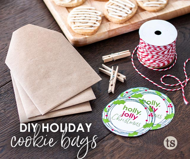 DIY Holiday Cookie Bags blog post | Tastefully Simple
