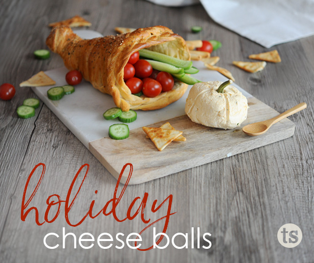 Holiday Cheese Balls for Thanksgiving & More blog post | Tastefully Simple
