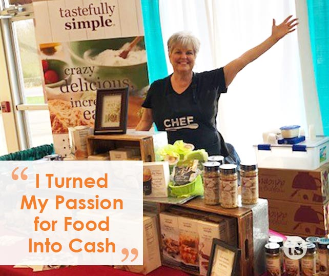 I Turned My Passion for Food Into Cash for College Tuition blog post | Tastefully Simple
