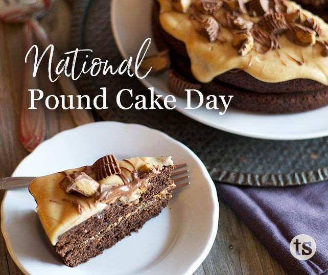 National Pound Cake Day blog post | Tastefully Simple