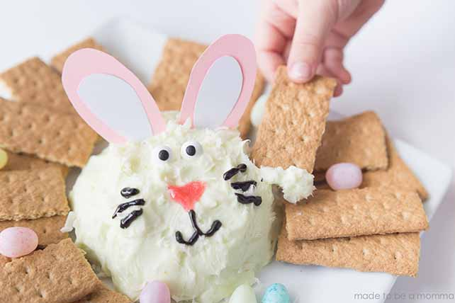 Easter Bunny Cheese Ball