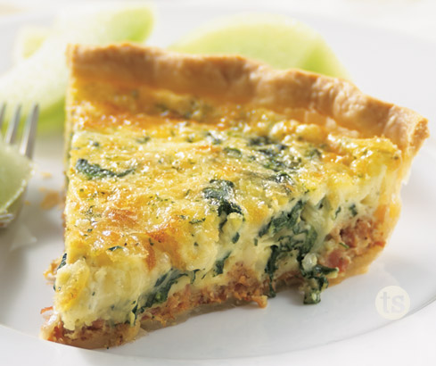 Bacon Spinach Quiche Tastefully Simple