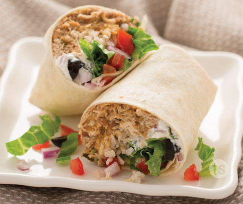 Chicken Bean Burritos Tastefully Simple