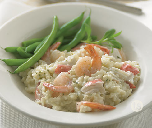 Creamy Shrimp & Crab Risotto