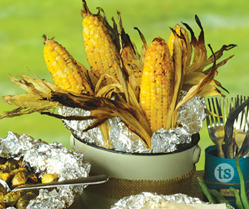 Fire Roasted Corn on the Cob