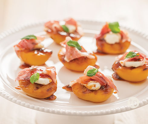 Savory Grilled Peaches Tastefully Simple