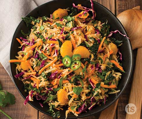 Jicama Slaw recipe | Tastefully Simple