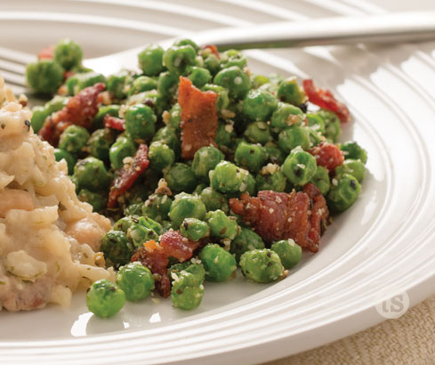 Rustic Peas & Bacon recipe | Tastefully Simple