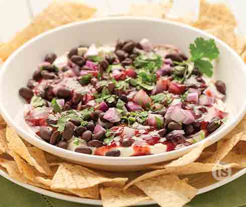 Rasberry Sriracha Bean Dip Recipe