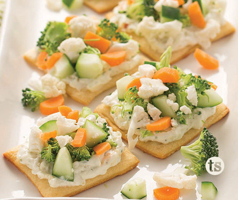 Crescent Vegetable Appetizers Recipe