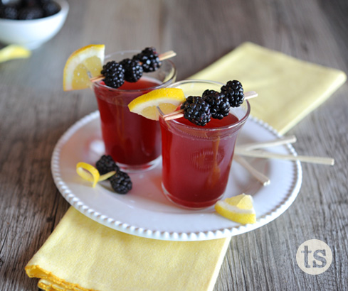 Blackerry Bellinis recipe | Tastefully Simple