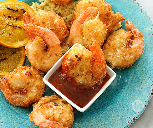 Orange Chile Coconut Shrimp recipe | Tastefully Simple