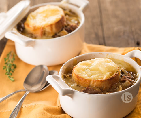 French Onion Beef Soup