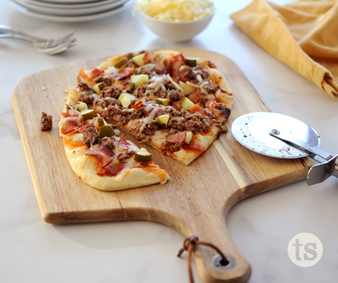 How to Make Perfect Personal Pizzas blog post | Tastefully Simple