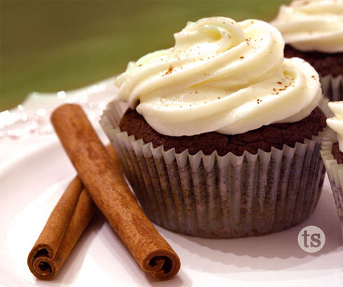 Spiced Chocolate Stout Cupcakes recipe | Tastefully Simple