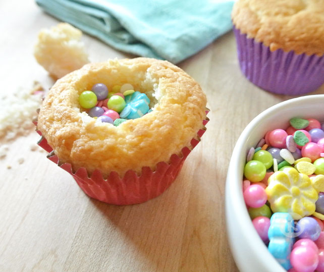 Candy Filled Cupcakes Prep