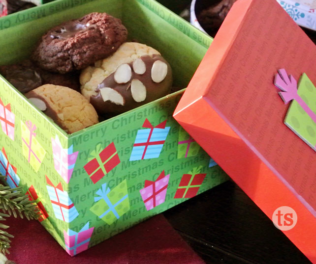 5 Days Of Holiday Ideas Christmas Cookie Exchange Packaging Ideas Tastefully Simple